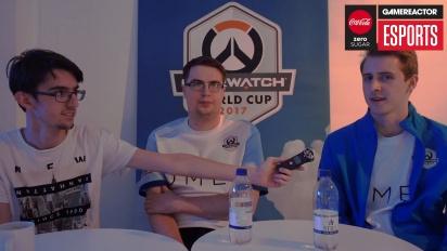 Overwatch - UK Overwatch World Cup team interview