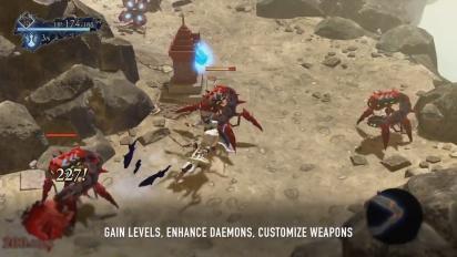 Oninaki - Daemon Battle System Trailer