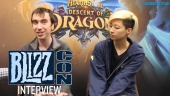 Hearthstone - Descent of Dragons Blizzcon Interview