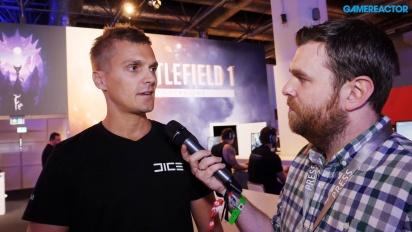 Battlefield 1: Incursions - ITW de David Sirland