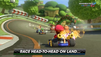 Mario Kart 8 Deluxe - Overview trailer