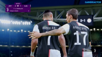 eFootball PES 2020 - Juventus vs. Ajax Gameplay