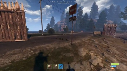 Rust - 17 Minutes of PS4 Pro Gameplay (Console Edition)