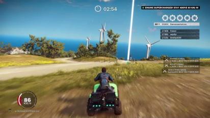 Just Cause 3 - Lighthouse Blast Challenge
