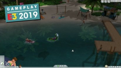 The Sims 4 - Island Living Gameplay