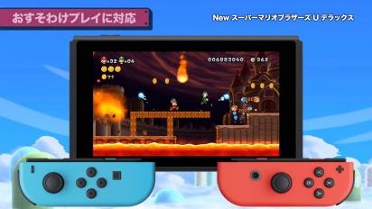 New Super Mario Bros U Deluxe - Gameplay Trailer