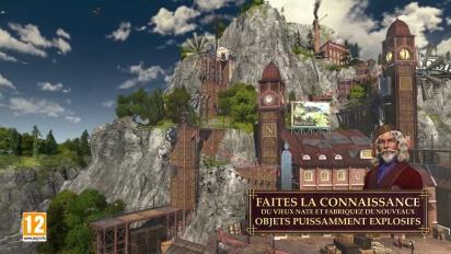 ANNO 1800 - Trailer du DLC Tresor Englouti VOSTFR
