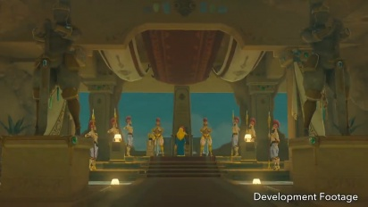 The Legend of Zelda: Breath of the Wild - Champions' Ballad DLC - Development Footage