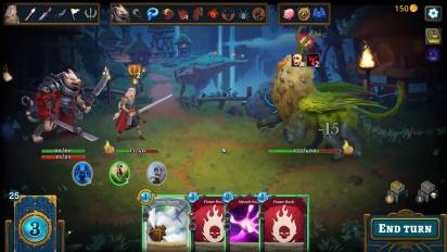 Roguebook - Gameplay Trailer