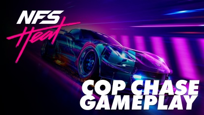 Need for Speed Heat - Cop Chase Gameplay