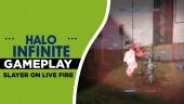 Halo Infinite - Slayer on Live Fire Gameplay