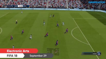 FIFA 18 and NBA 2K18 - First Nintendo Switch in-game footage from Nintendo Direct