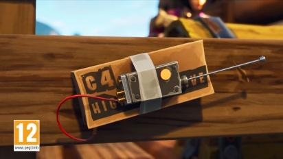 Fortnite Battle Royale - Explosifs télécommandés