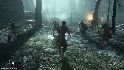 Ghost of Tsushima - Resolve Heal Gameplay