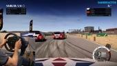 Dirt 4 - Rallycross Simulation Mode Gameplay with Racing Wheel