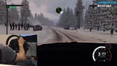 Dirt 4 - Rallycross Gamer Mode Gameplay with Racing Wheel