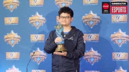 Hearthstone World Championship 2018 - Conférence de presse du champion du monde tom60229