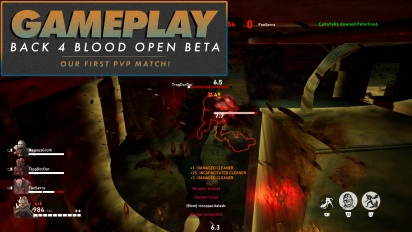 Back 4 Bloood - Open Beta PVP Match nr.1