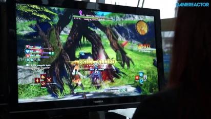 Sword Art Online: Hollow Realization - Jump Festa Gameplay