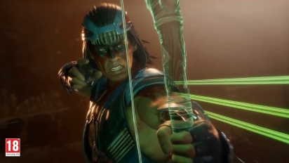Mortal Kombat 11 - Gameplay de Nightwolf