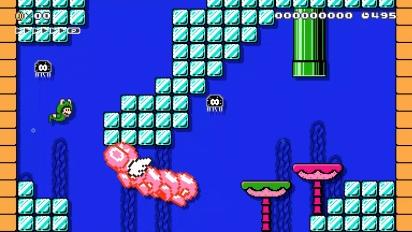 Super Mario Maker 2 - Nouveau mode en français