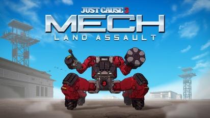 Just Cause 3 - Mech Land Assault trailer