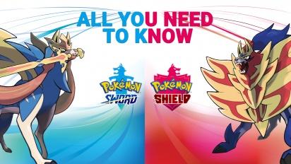 Pokémon Épée/Bouclier - Tout ce qu'il faut savoir (contenu sponsorisé)