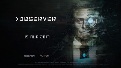 Observer - The Year is 2084 Trailer