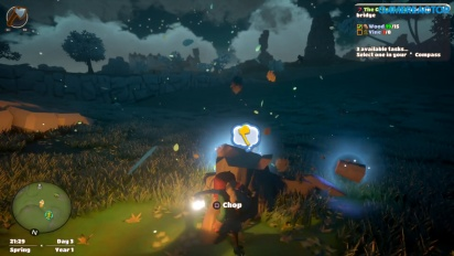 Yonder: The Cloud Catcher Chronicles - Building a farm Gameplay