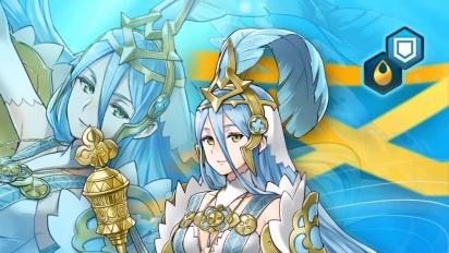 Fire Emblem Heroes - Legendary Hero Azura - Vallite Songstress