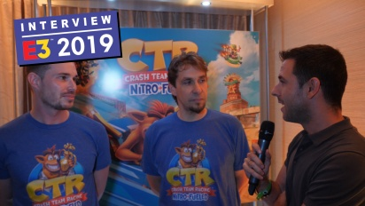 Crash Team Racing Nitro-Fueled - Stephane Gravel & Andrew Petrie Interview