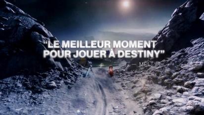 Destiny 2 : Bastion des Ombres - Bande-annonce des avis positifs