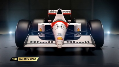 F1 2017 - Classic Car Reveal McLaren Trailer (Italiano)
