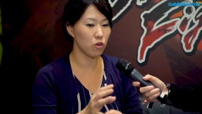 Dragon Ball FighterZ - ITW de Tomoko Hirok