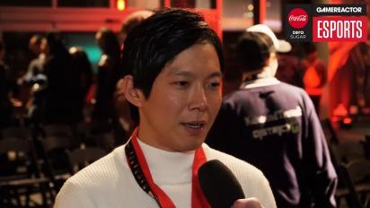 Tekken World Tour - Itw de Qudans après sa victoire en finale