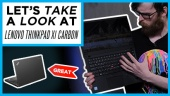Quick Look - Lenovo ThinkPad X1 Carbon