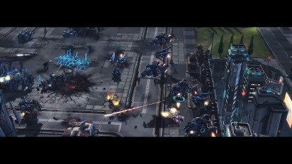 Starcraft II - Wings of Liberty - free to play trailer