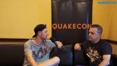 QuakeCon - Interview de Pete Hines