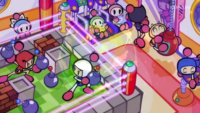 Super Bomberman R - New Battle Mode Grand Prix