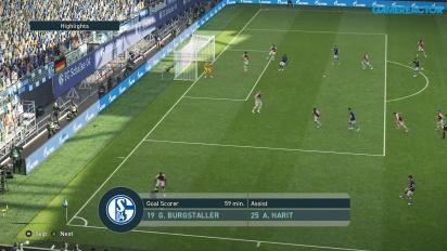 Pro Evolution Soccer 2019 - Full Match Schalke 04 vs Monaco HD Gameplay