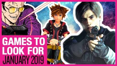 Les jeux à ne pas manquer : Janvier 2019