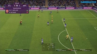 eFootball PES 2020 DP6 - myClub Co-Op Online Gameplay -  St. Johnstone vs Arsenal