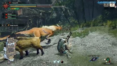 Monster Hunter Rise - Great Izuchi - Gameplay