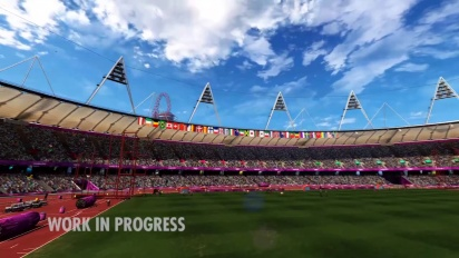 London 2012 - The Official Video Game of the Olympic Games - Flythrough Trailer