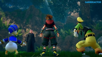Kingdom Hearts III - Gameplay Preview