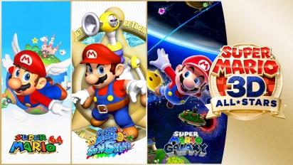 Super Mario 3D All-Stars - Reveal Trailer