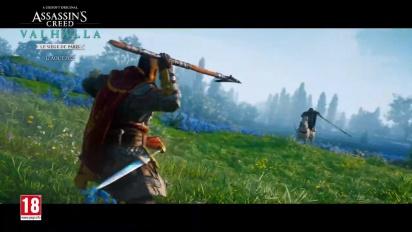 Assassin's Creed Valhalla - Le Siège de Paris - Trailer de lancement VOSTFR