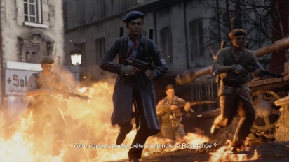Call of Duty - WWII - Pack DLC 1 The Resistance - Trailer live action