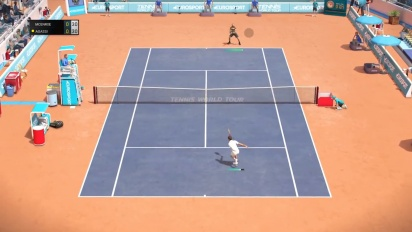 Tennis World Tour - Legends Gameplay