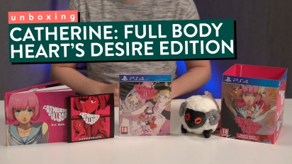 Catherine: Full Body - Heart's Desire Premium Edition Unboxing
